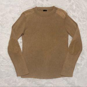 J Crew Men's Elbow Patch Sweater